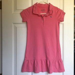 Vineyard Vines Pink Polo dress